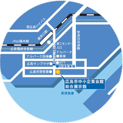 詳しいアクセスはこちら http://www.exhibition-oken.jp/koutsu/